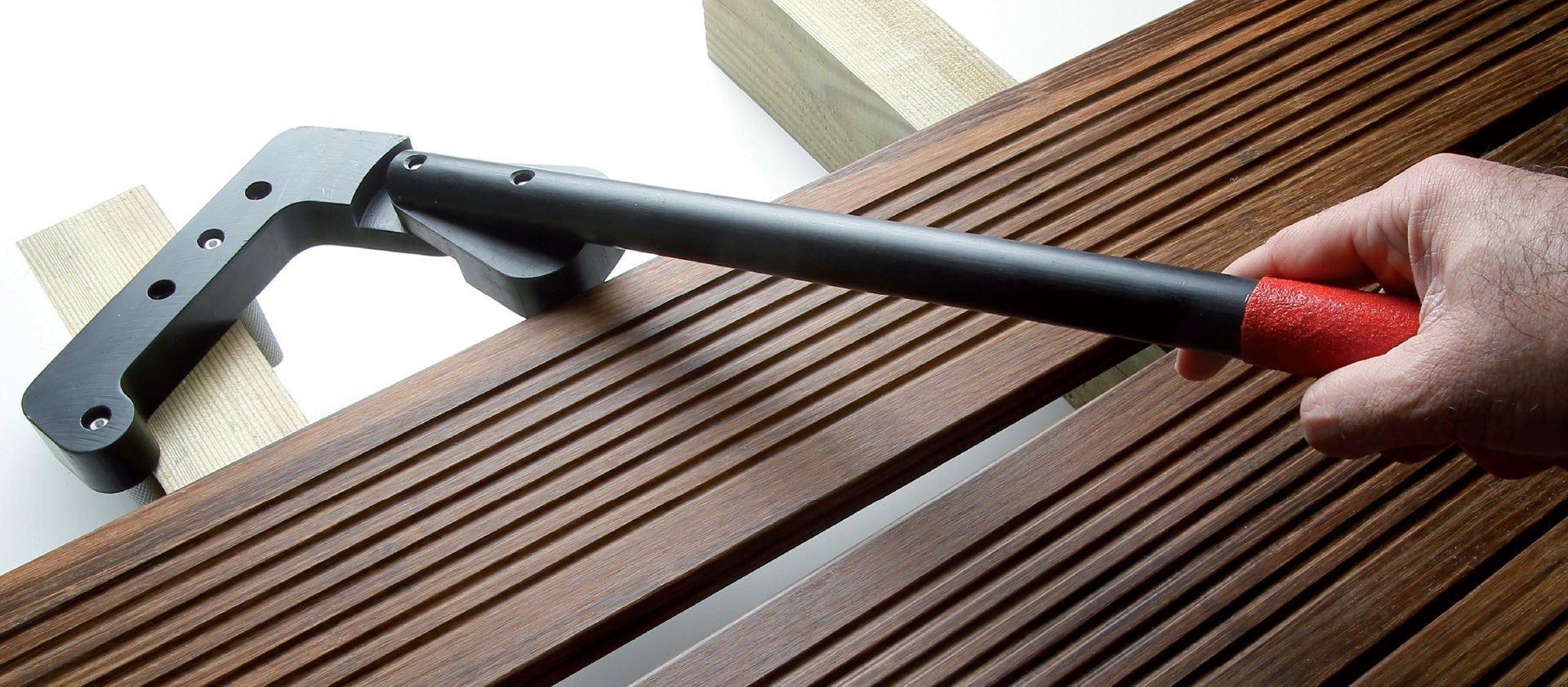 redresseur de lame de terrasse
